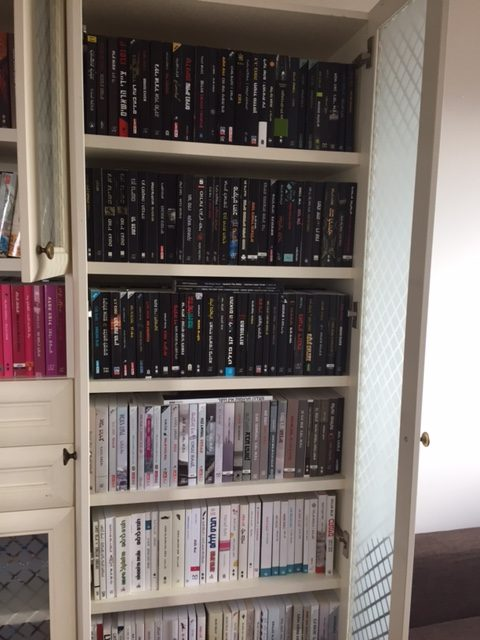סידור לארון ספרים לאחר שיפוץ בית   עוברים בסדר