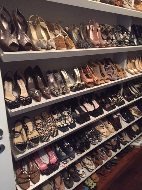 סידור ארונות נעלים, אחרי מעבר דירה - עוברים בסדר