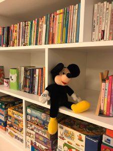 סידור כוורת ספרים בחדרי ילדים