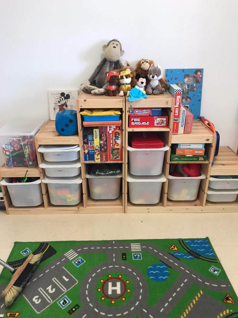 סידור חדר ילדים במעבר דירה - עוברים בסדר