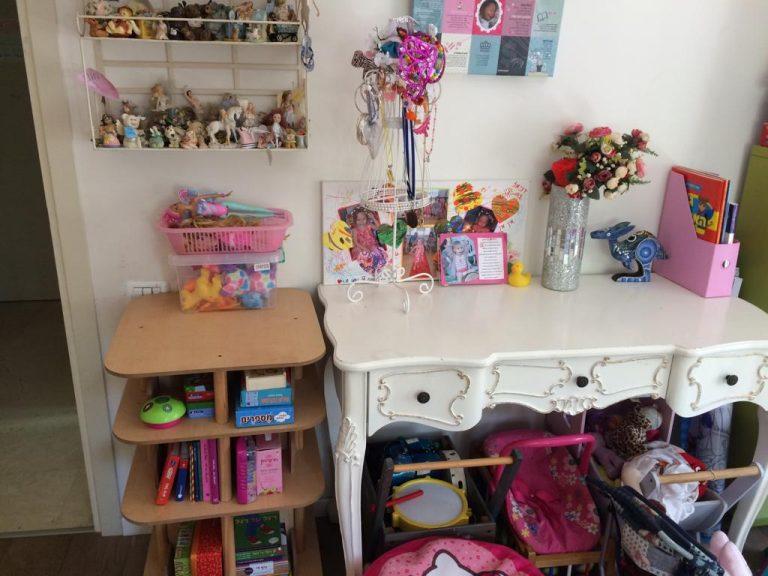 סידור חדרי ילדות לאחר מעבר דירה
