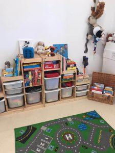 סידור וארגון חדר ילדים לאחר מעבר דירה - עוברים בסדר עם יעל