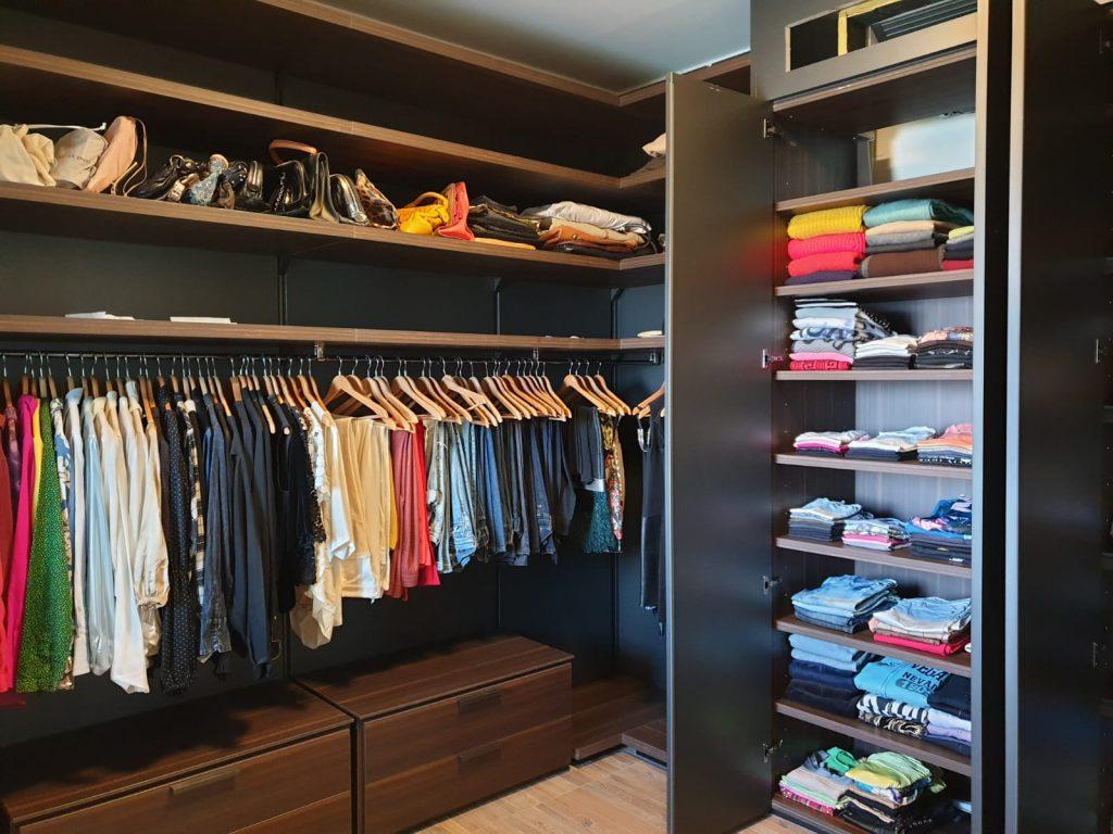 סידור ארונות בגדים, אחרי מעבר דירה - עוברים בסדר